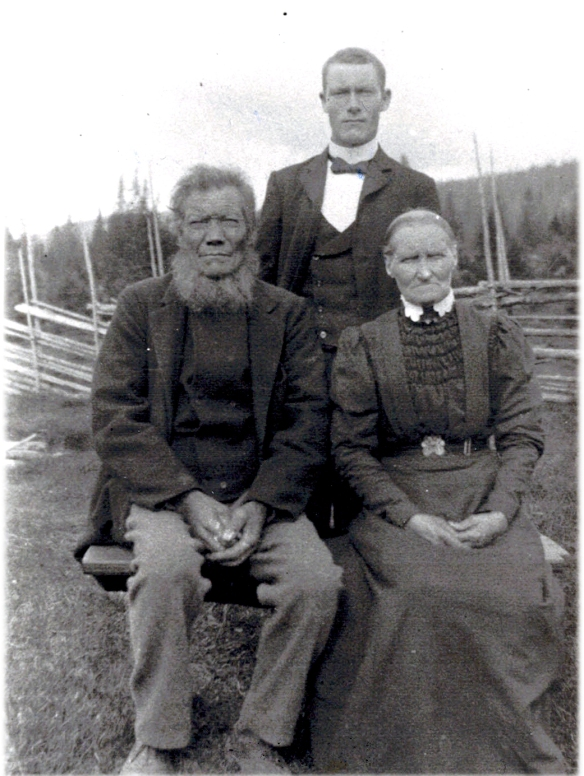 Grandpa and Grandma Cleveland with Tony C. CLCC