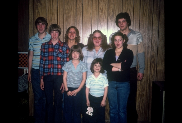 My sibs and I in late 70's.